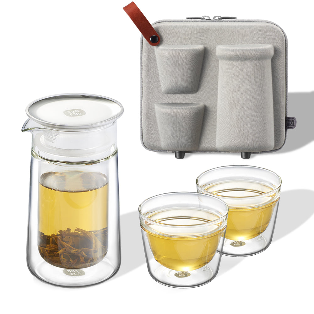 Epitex Portable Mobile Moon Portable Tea Set | Gift Set - Epitex