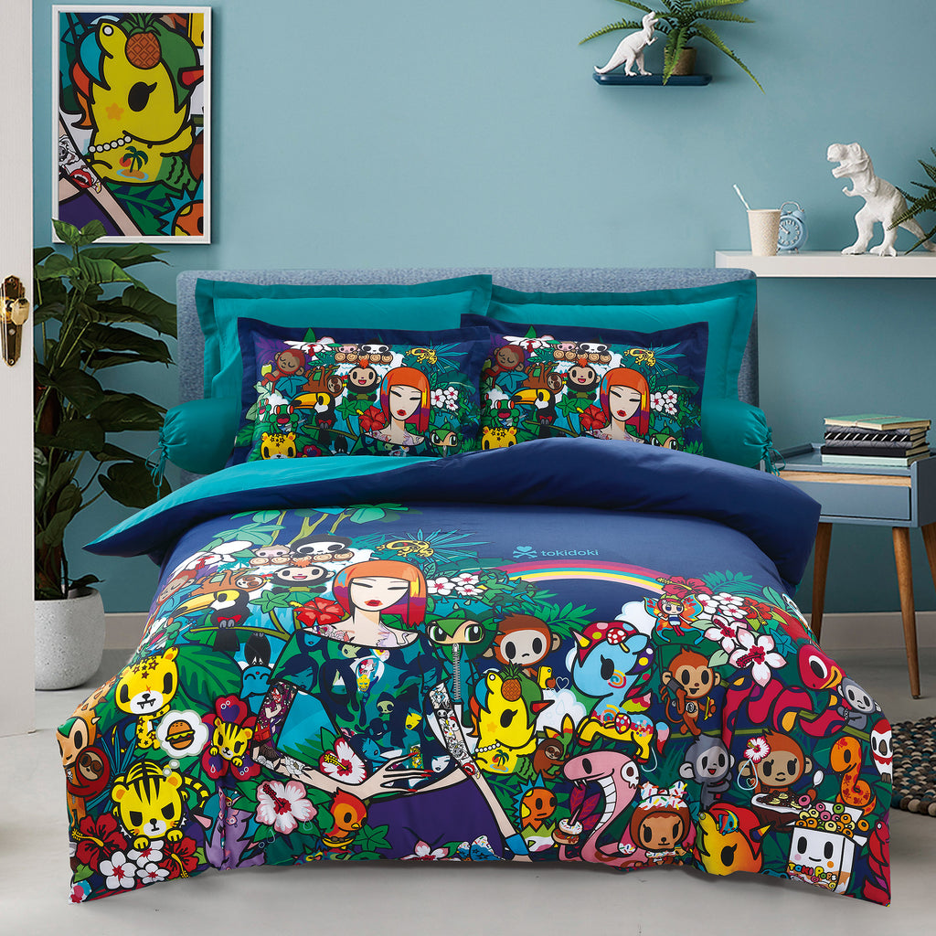 Tokidoki TK-604-19 1000TC Egyptian Cotton Bedsheet & Bedset - Epitex International