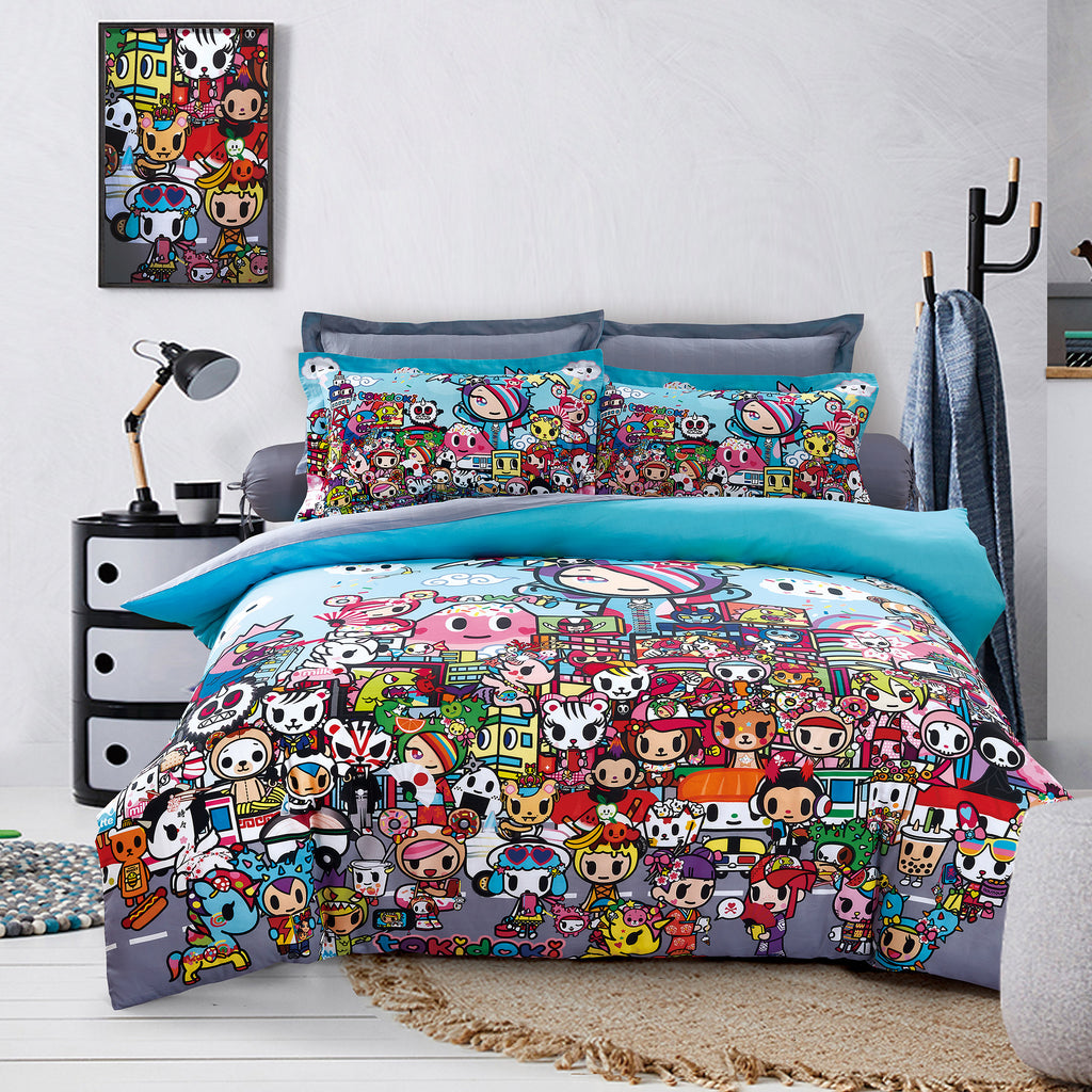 Tokidoki TK-604-23 1000TC Egyptian Cotton Bedsheet & Bedset - Epitex