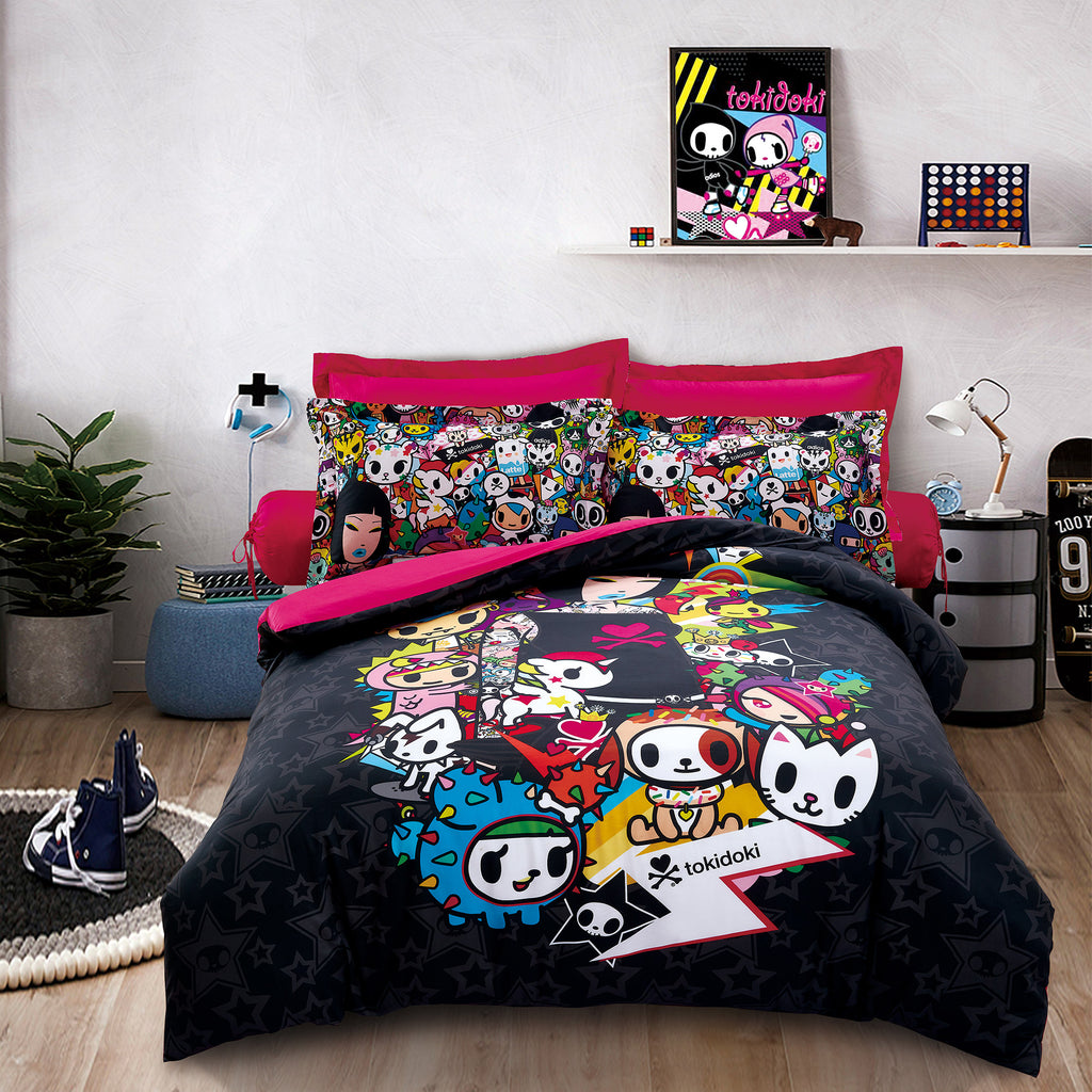 Tokidoki TK-604-7 1000TC Egyptian Cotton Bedsheet & Bedset - Epitex International