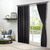 Epitex Clasica CLA301-3 Ready Made Curtain (Black) - Epitex