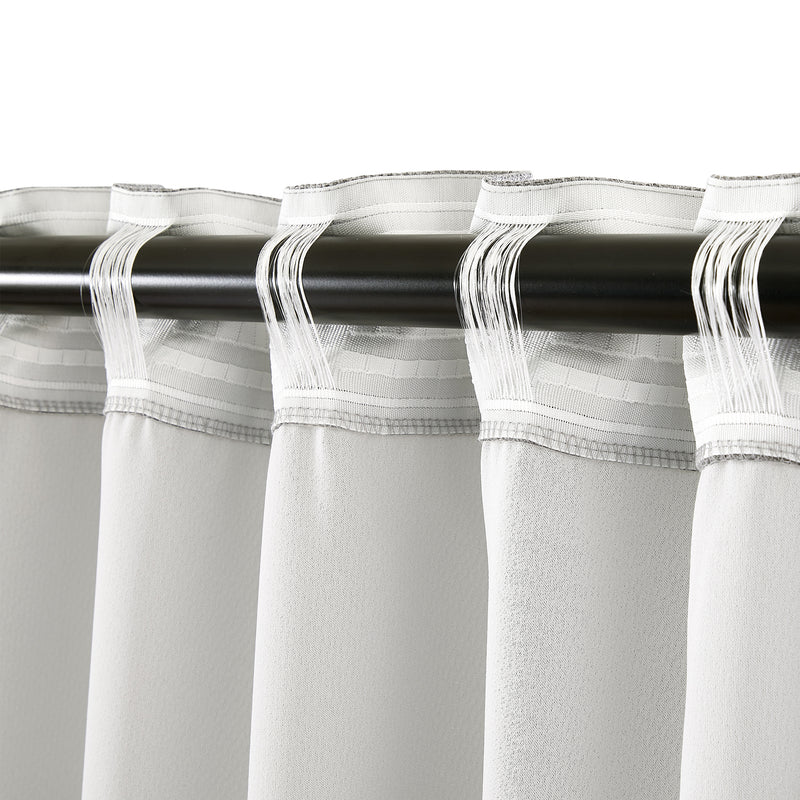 Epitex Clasica CLA302-5 Ready Made Curtain (Grey) - Epitex