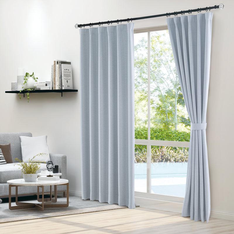 Epitex Clasica CLA302-6 Ready Made Curtain (Light Blue) - Epitex