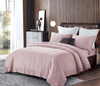 Cressent Dale Premium Bamboo CR5806-02 1200TC Burnished Rose Colour Fitted Sheet Set & Bedset - Epitex