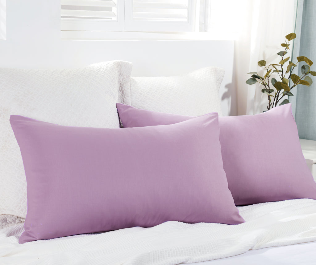 Epitex Individual Pillow | Bolster Case (Pink Mauve) EL1507/EB1508 -2 - Epitex