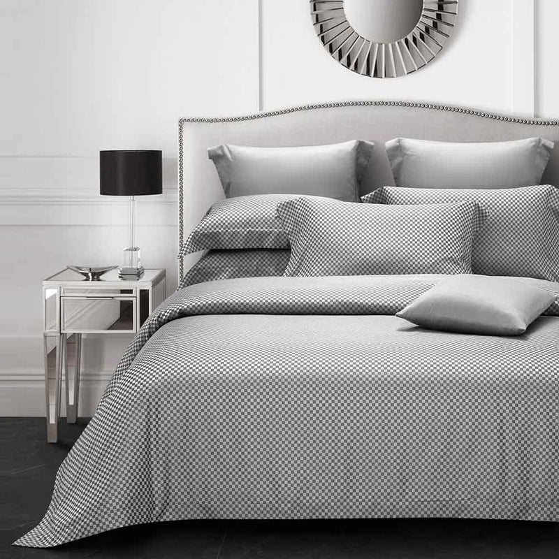 Epitex Hybrid Botanic Silk ET1213-3 1200TC DOBBY Fitted Sheet Set | Bedset | 3 Colors - Epitex