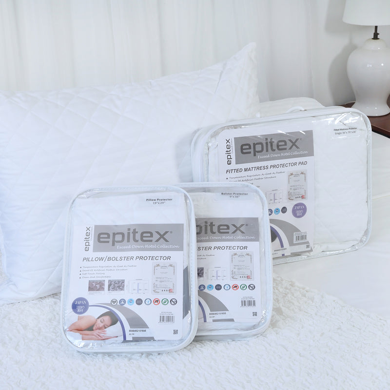 Epitex Exceed Down Hotel Collection Pillow & Bolster Cover - Epitex