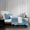 Epitex Hotel Collection HC2301-8 1200TC Grey Blue / White Bedset - Epitex