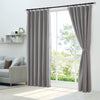 Epitex Luxury GRA201-4 Ready Made Curtain (Cool Grey) - Epitex