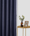 Epitex Luxury GRA201-5 Ready Made Curtain (Dk Blue) - Epitex