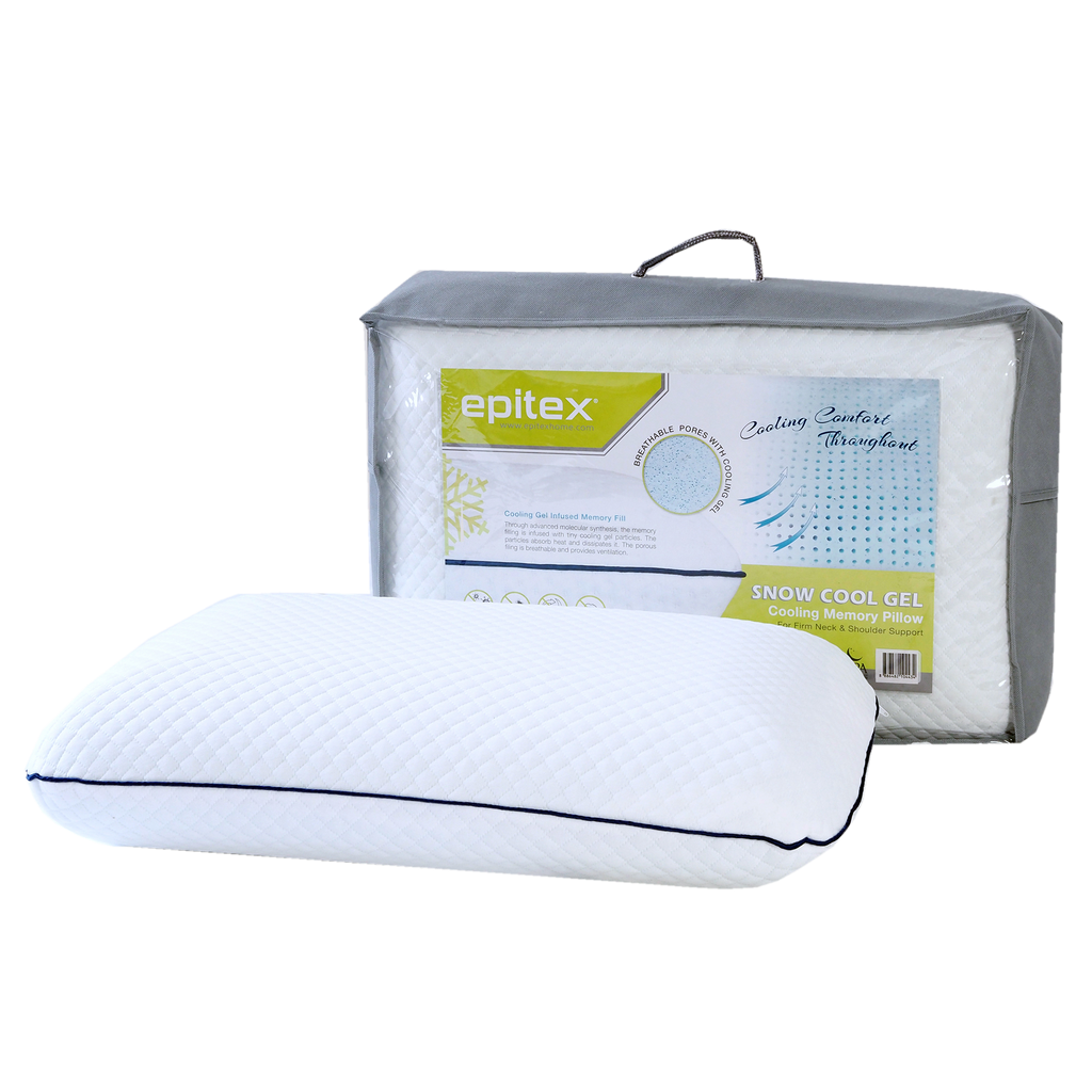 Epitex Snow Cool Gel Classic Pillow 1+1 Promo ( 2 for $69) - Epitex