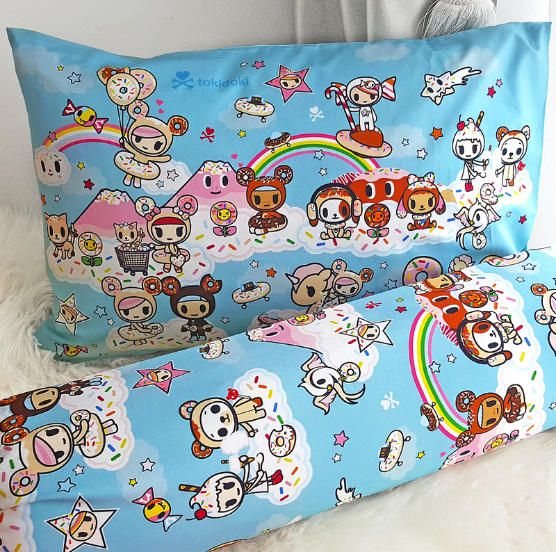 Tokidoki TK601-02 Junior Pillow | Bolster Case - Epitex