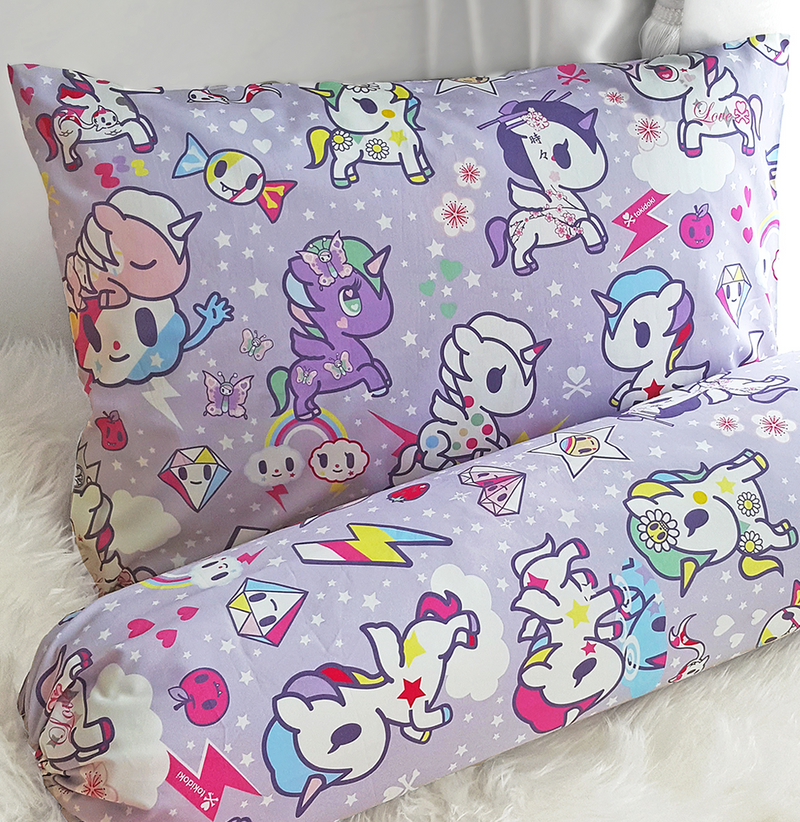 Tokidoki TK601-03 Junior Pillow and Bolster Case - Epitex
