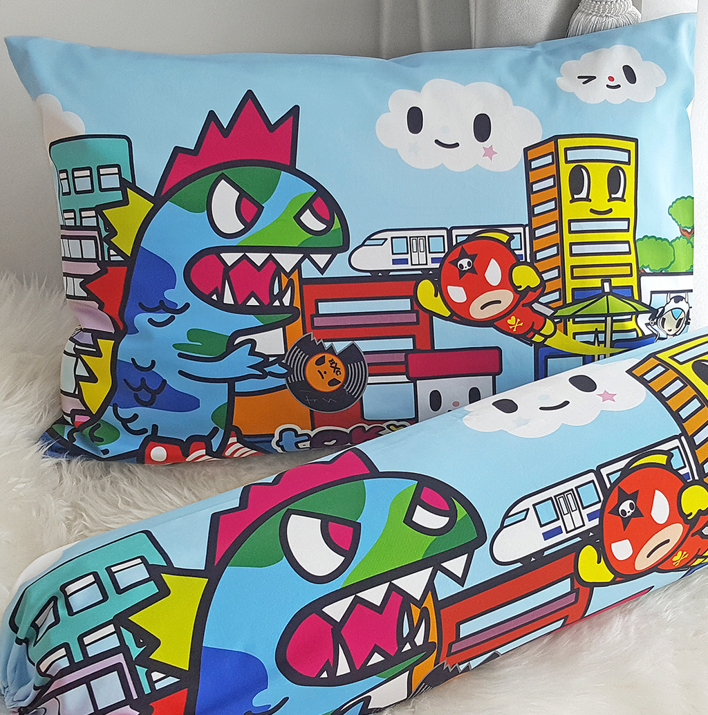 Tokidoki TK601-04 Junior Pillow | Bolster Case - Epitex