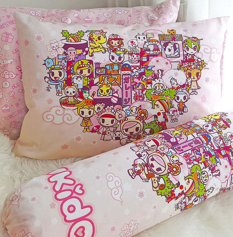 Tokidoki TK601-06 Junior Pillow and Bolster Case - Epitex