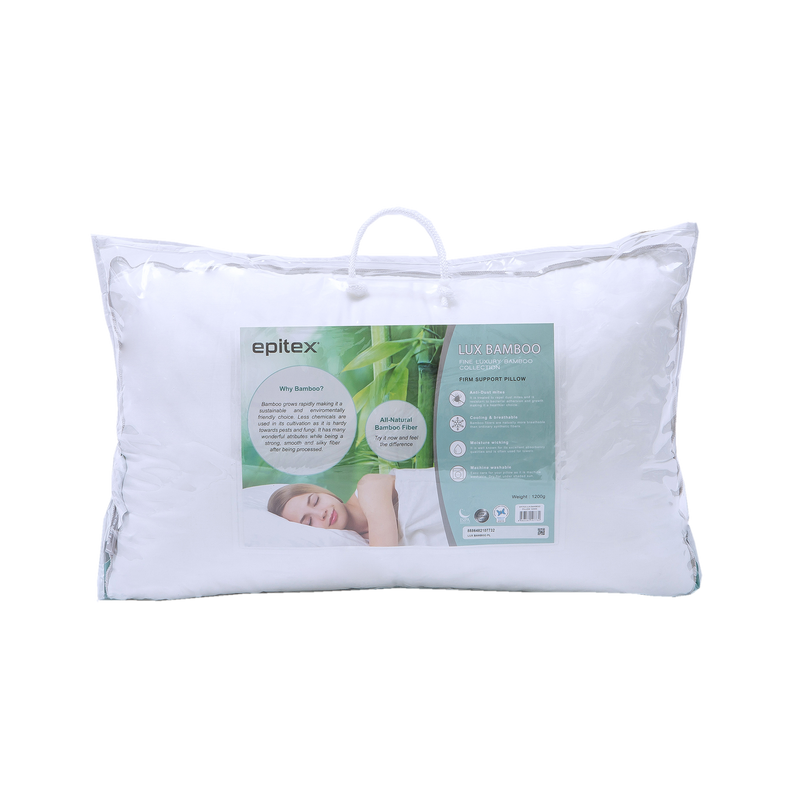 Epitex Lux Bamboo Pillow 1+1 Promo (2 for $89) - Epitex