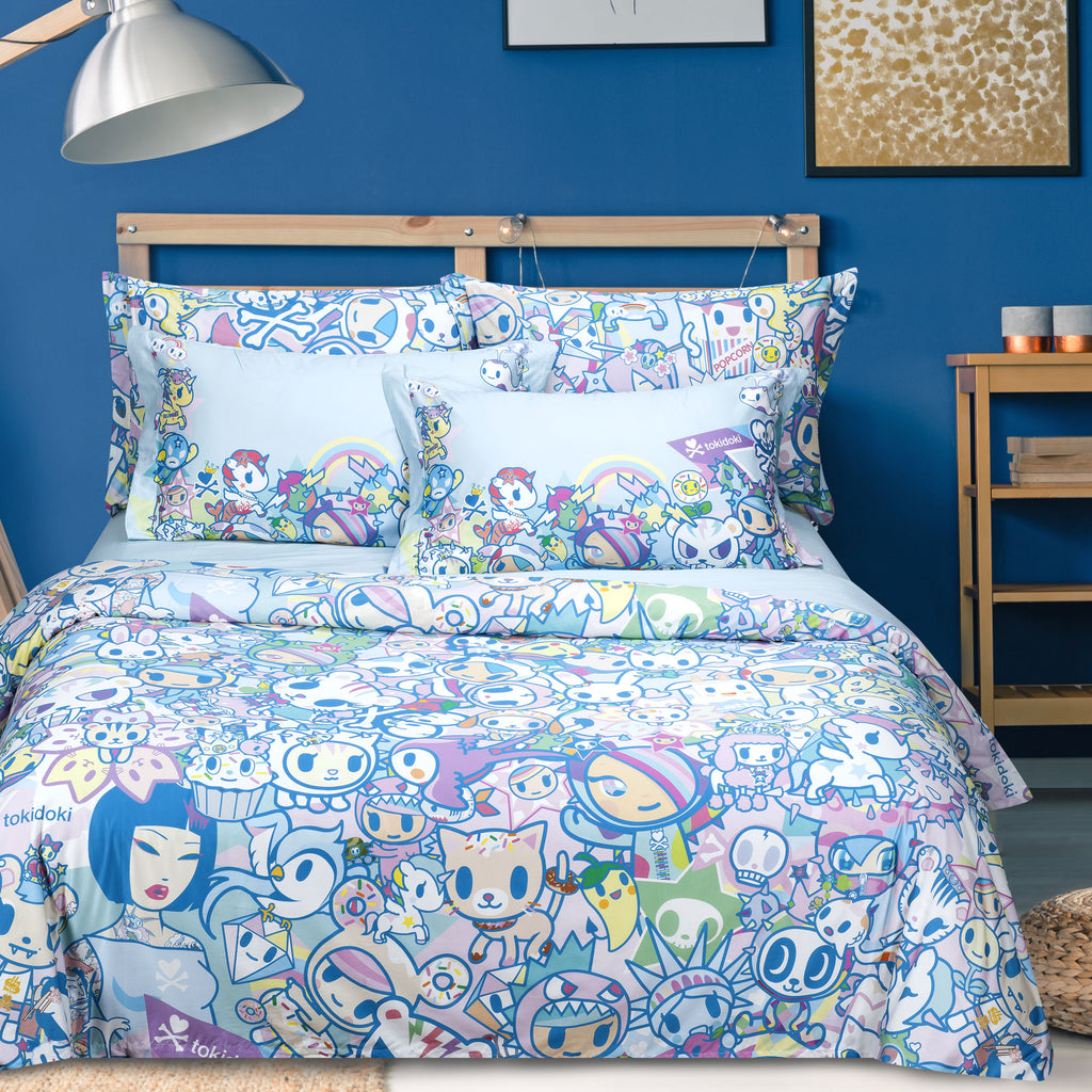 Tokidoki TK-601-2 1000TC Egyptian Cotton Bedset - Epitex International