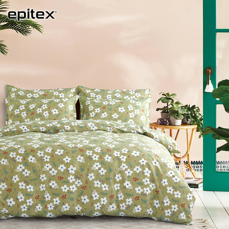 Epitex Silkysoft 900TC SP9046-06 Bedsheet / Bedset - Epitex