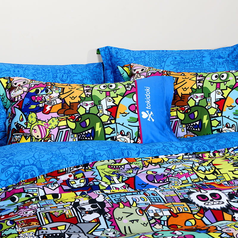 Tokidoki TK613-32 1000TC Egyptian Cotton Bedsheet | Bedset - Epitex