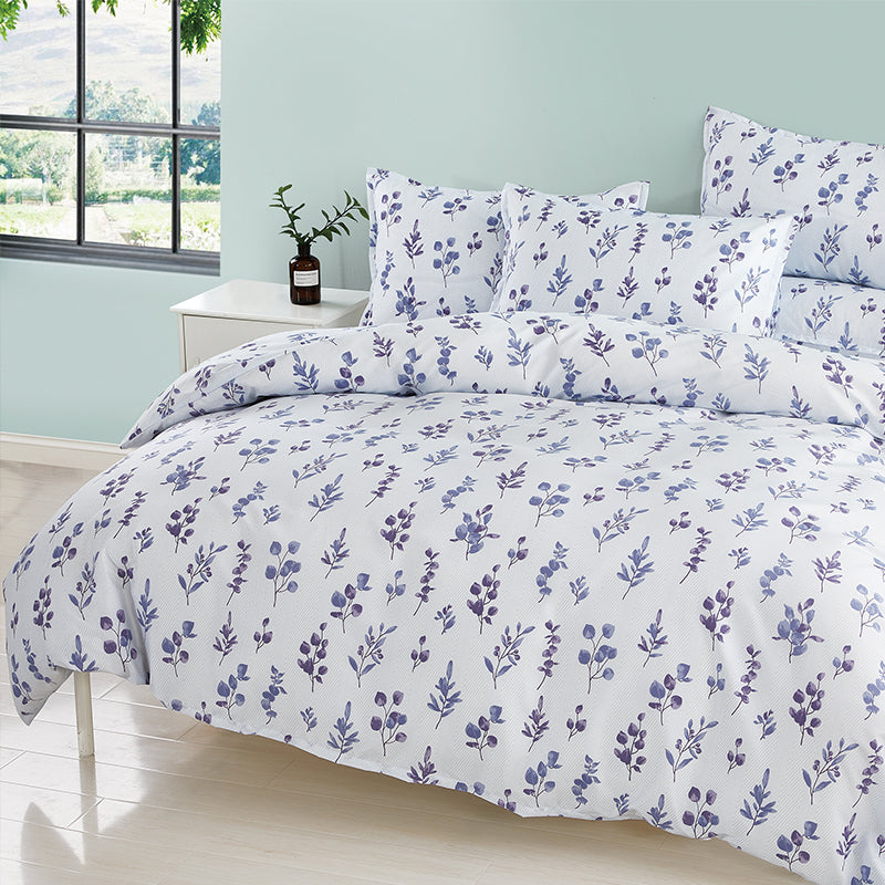 Epitex Silkysoft 900TC Random Printed Bedsheet | Bedset (Clearance Sales) - Epitex