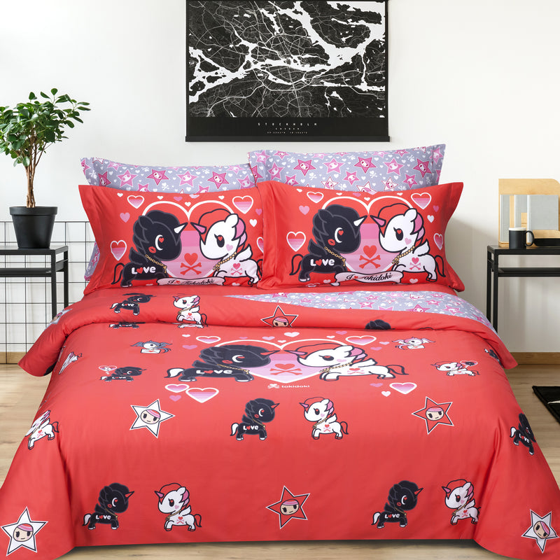 Tokidoki TK-601-7 1000TC Egyptian Cotton Bedset - Epitex International