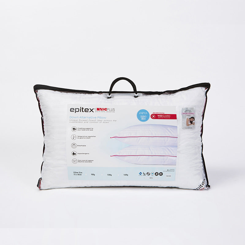 Epitex Vio+ Plus Elite Hotel Collection Pillow - Epitex