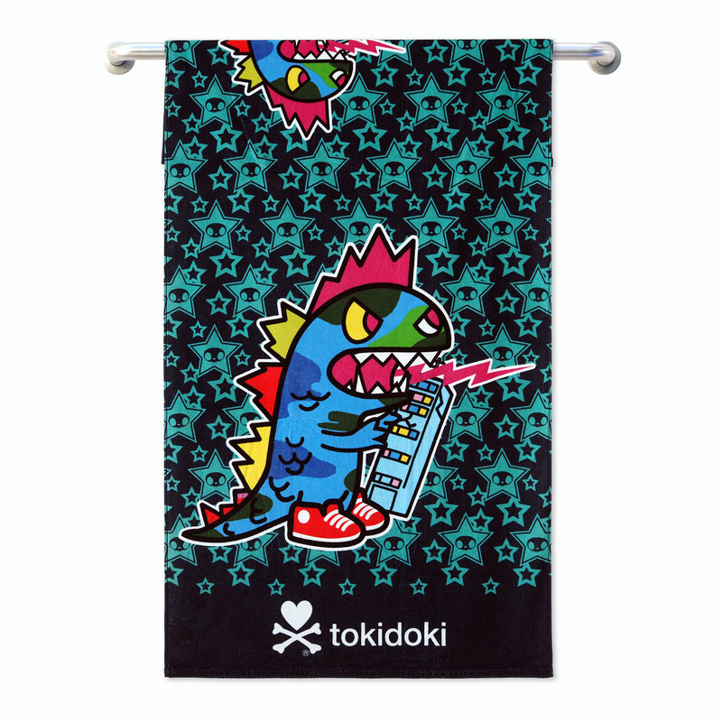 Tokidoki TK601-2 Bath Towel (3 Sizes) | Face Towel | Hand Towel | Gym Towel - Epitex