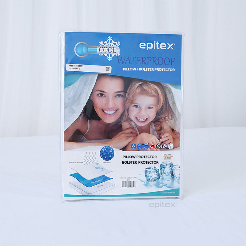 Epitex Cooling Waterproof Pillow | Bolster Protector - Epitex