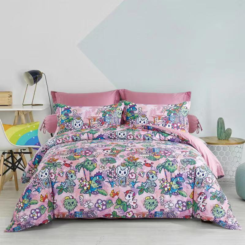 Tokidoki TK-611-37 1000TC Egyptian Cotton Bedsheet & Bedset - Epitex International