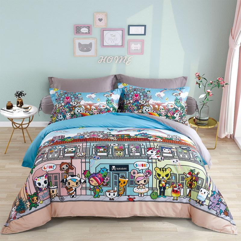 Tokidoki TK-611-36 1000TC Egyptian Cotton Bedsheet & Bedset - Epitex International