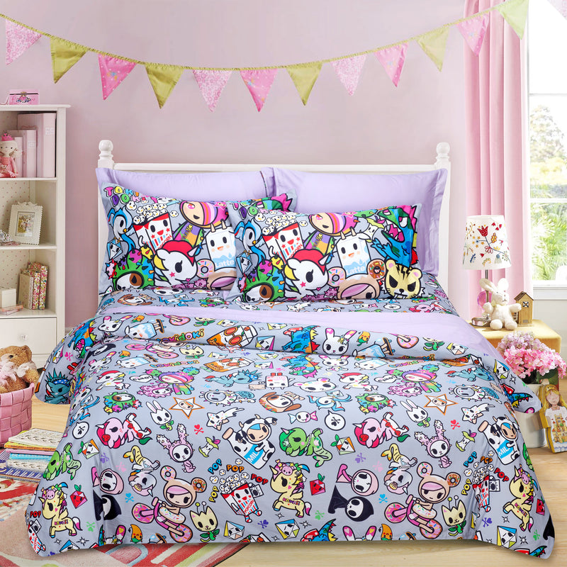 Tokidoki TK-601-3 1000TC Egyptian Cotton Bedset - Epitex International