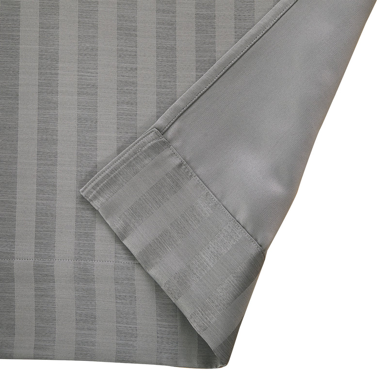 Epitex Luxury GRA200-1 Ready Made Curtain (Soft Grey) - Epitex