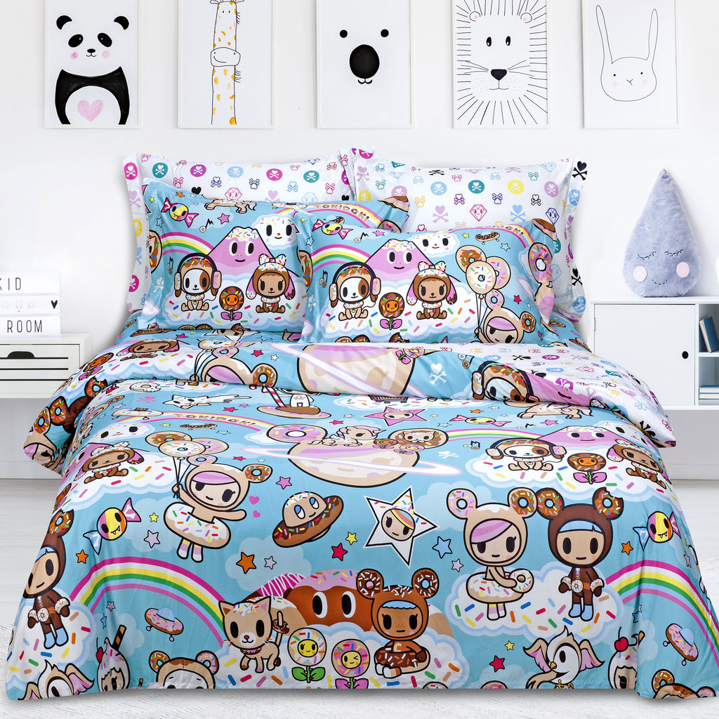 Tokidoki TK-601-4 1000TC Egyptian Cotton Bedset - Epitex International