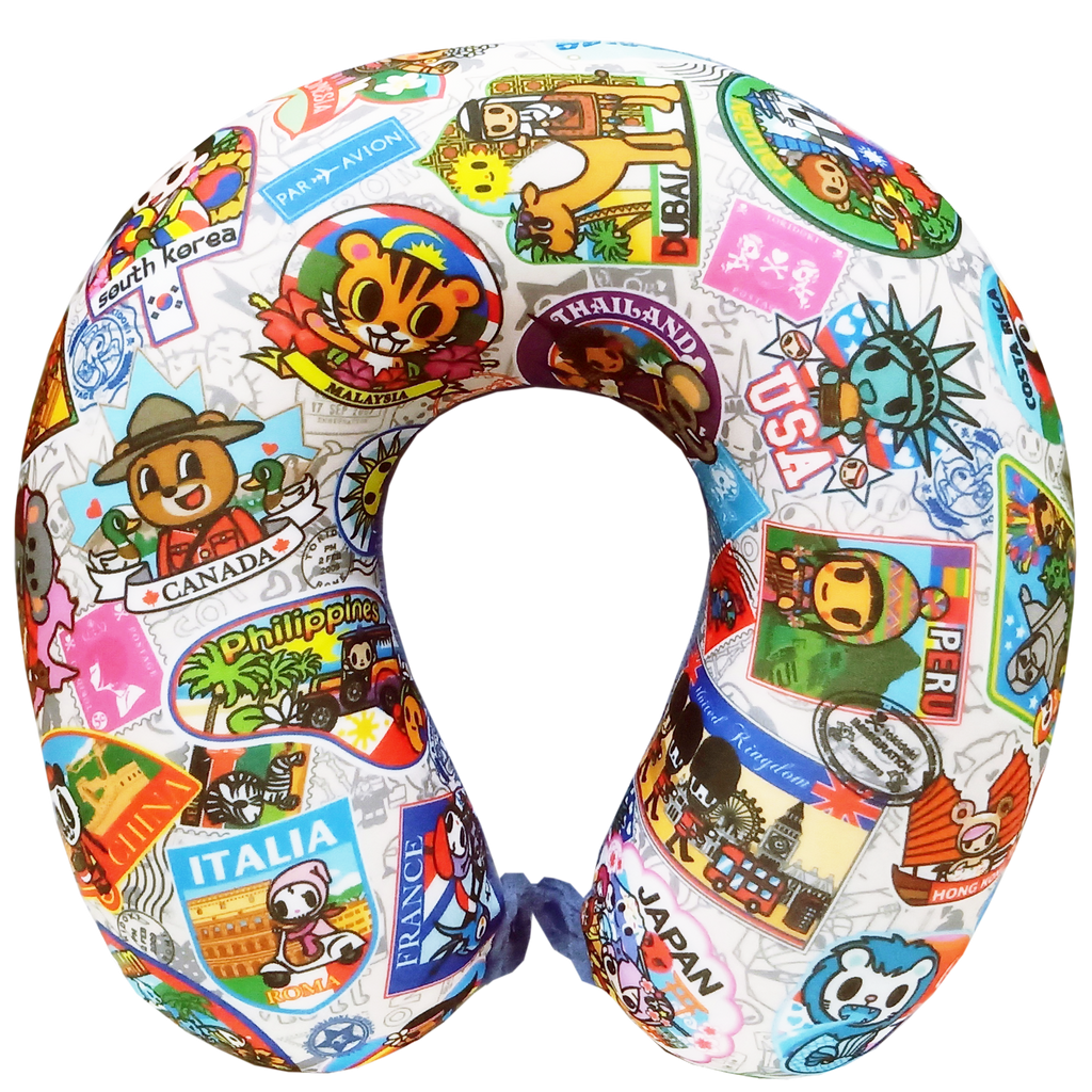 Tokidoki TK604-2 Travel Pillow - Epitex International