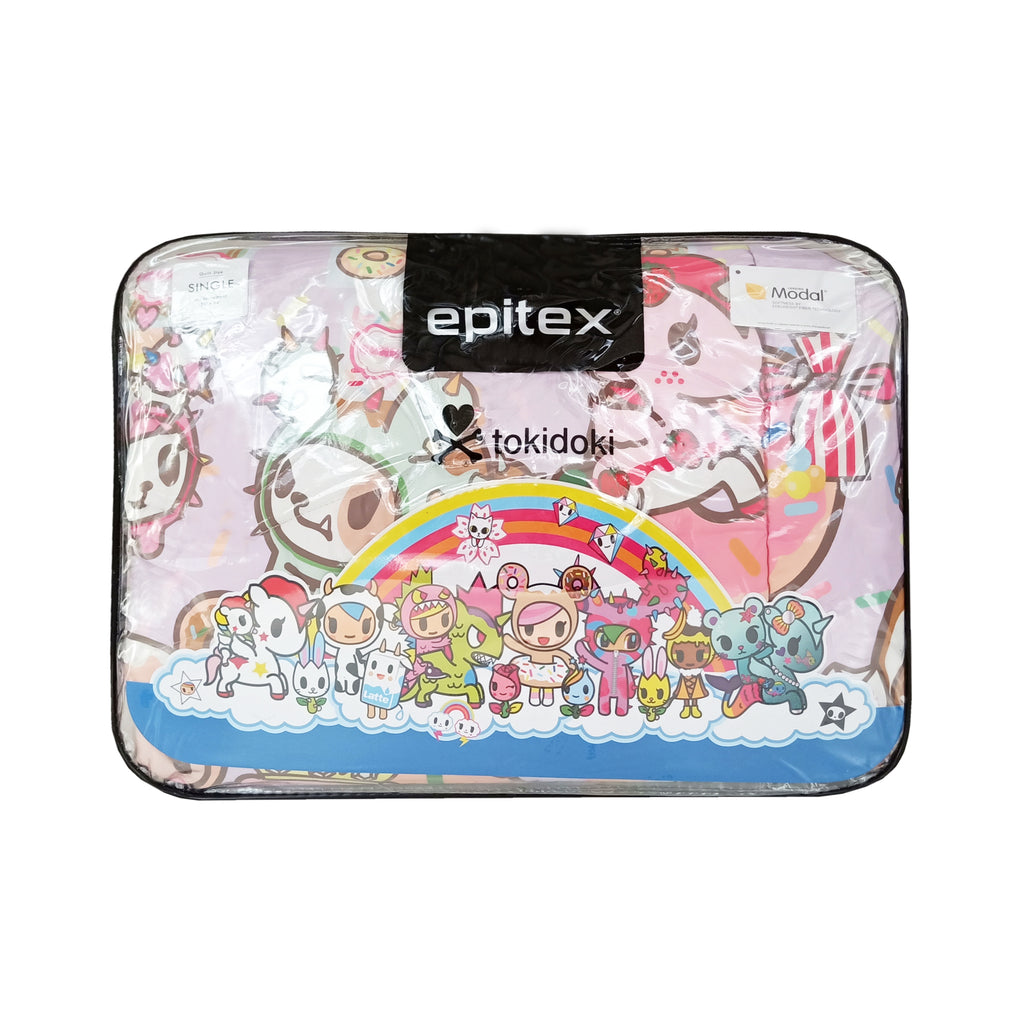 Tokidoki TK605-1 Fluffy Summer Quilt - Epitex International