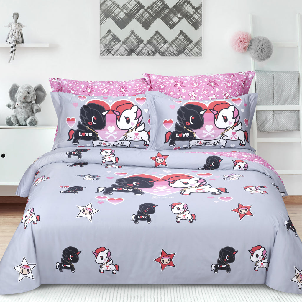 Tokidoki TK-601-6 1000TC Egyptian Cotton Bedset - Epitex International