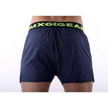 Load image into Gallery viewer, 2 PACK DMXGEAR LUXURY MEN'S LOOSE TRUNKS TARTAN SHADES OF BLUE