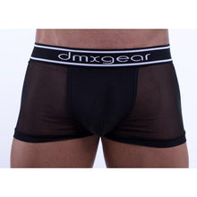 Load image into Gallery viewer, DMXGEAR LUXURY BLACK MESH MEN'S BOXER BRIEF SWEET MESH BOXER