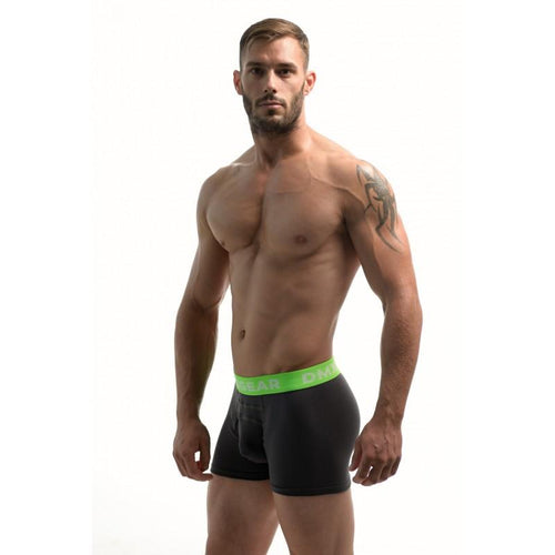 DMXGEAR LUXURY COTTON DARK GREY MEN'S BOXER BRIEF ANATOMICALLY FIT BOXER