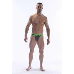 DMXGEAR LUXURY COTTON GREY MEN'S SPORTY BRIEF ANATOMICALLY FIT SPORT BRIEF