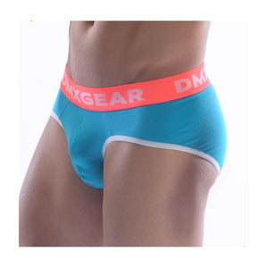 DMXGEAR LUXURY COTTON TURQUOISE MEN'S BRIEF ANATOMICALLY FIT BRIEF