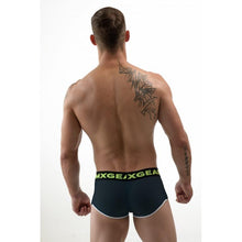 Load image into Gallery viewer, DMXGEAR MEN PERFORATED BLACK BOXERS HOLE NET BOXER