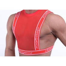 Load image into Gallery viewer, DMXGEAR RED MEN'S MESH TANK TOP SWEET MESH TANK TOP