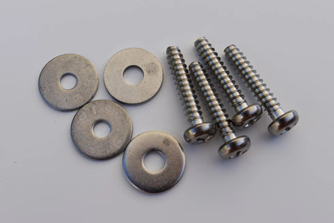 Footstrap Screws/Washers