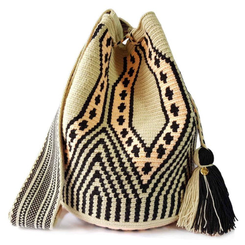 Beige Handmade Fair Trade Vegan Handbag