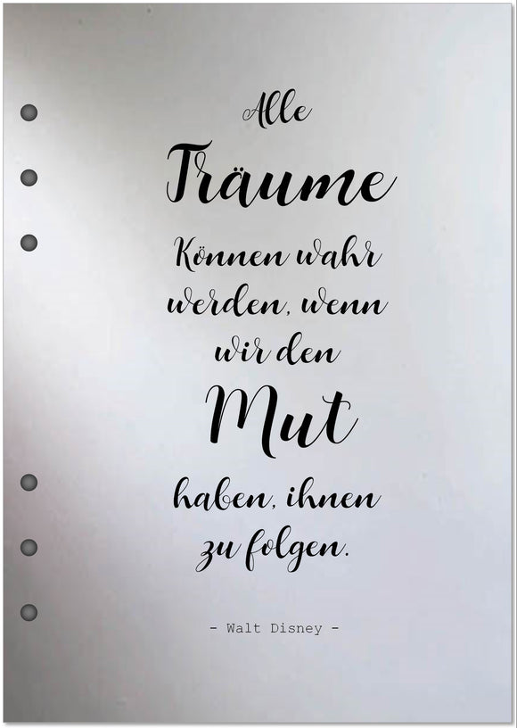 Vellum  | Text in DIN A5