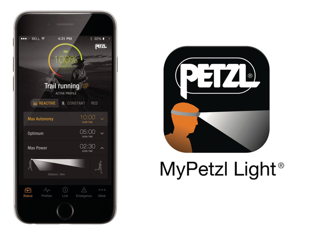 MyPetzl Light Mobile App