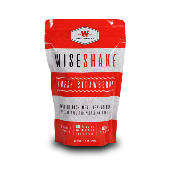 EMERGENCY SHAKES BUCKET, 40 Servings **FREE SHIPPING**