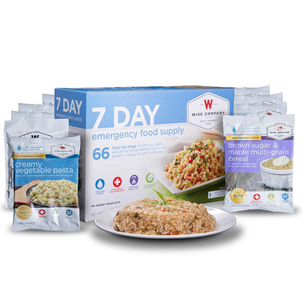 7 DAY EMERGENCY FOOD SUPPLY BOX **FREE SHIPPING**