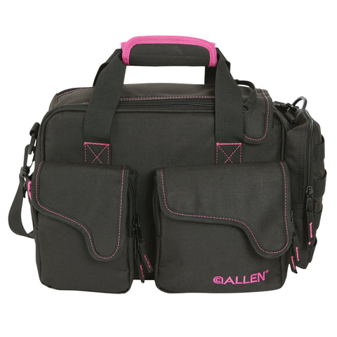 Allen Cases Dolores Compact Range Bag, Black/Orchid
